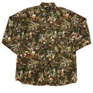 RedHead deer hunting hunter Camo camouflage shirt